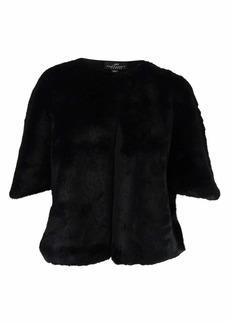 Adrianna Papell Women's Faux Fur Jacket  XL