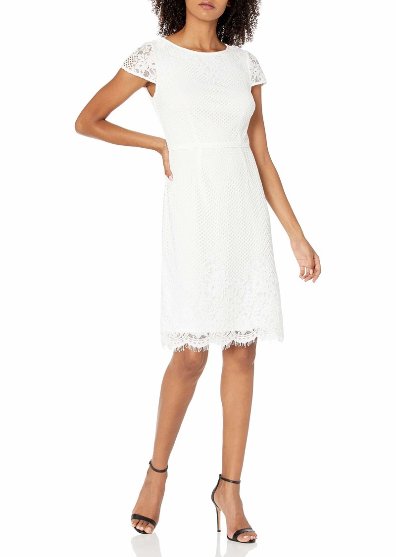 Adrianna Papell Women's Fiona LACE A-LINE Dress