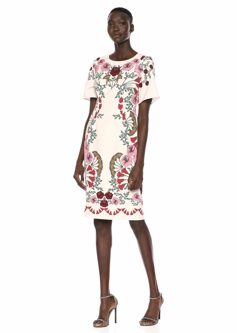 Adrianna Papell Women's Folkloric Beauty Printed Dress