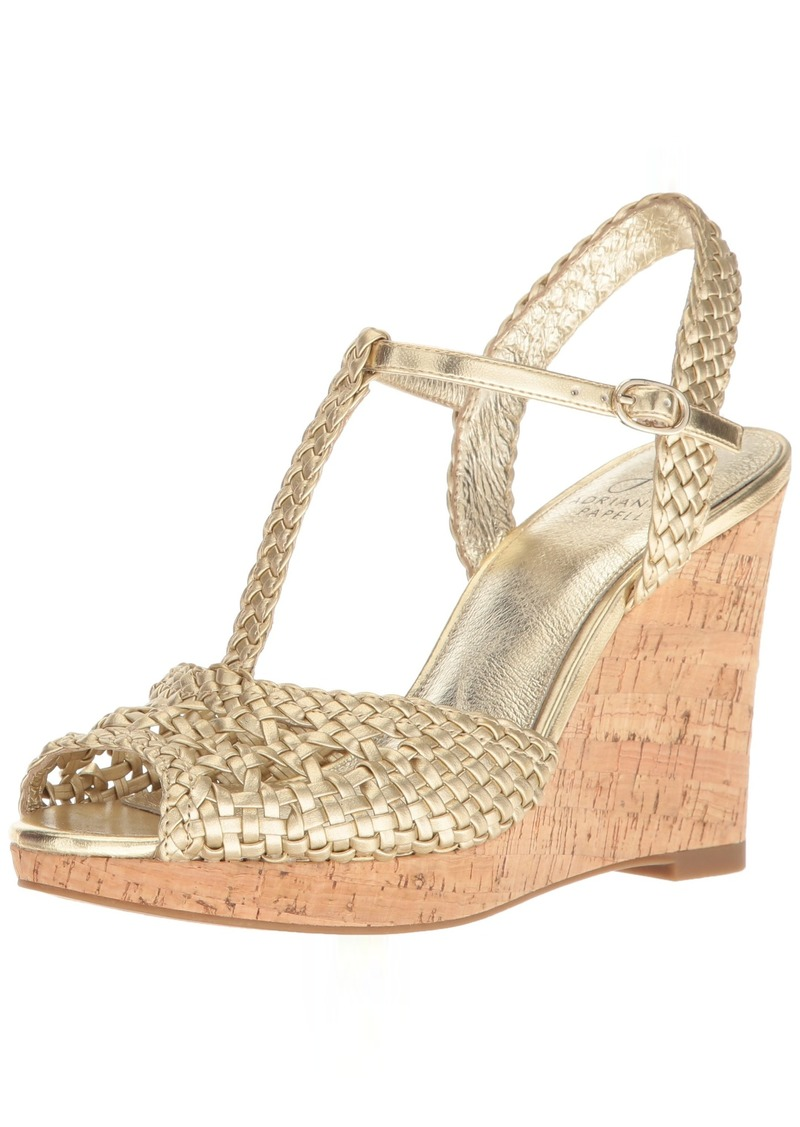 Adrianna Papell Women's Franklin Wedge Sandal   M US