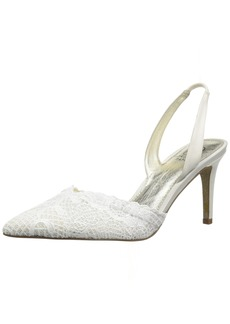 Adrianna Papell Women's Hallie Pump Ivory attalie lace  M US