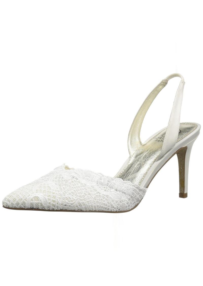 Adrianna Papell Women's Hallie Pump Ivory attalie lace  M US