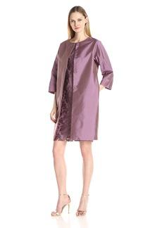Adrianna Papell Women's Jacket and Sheath Lace Dress