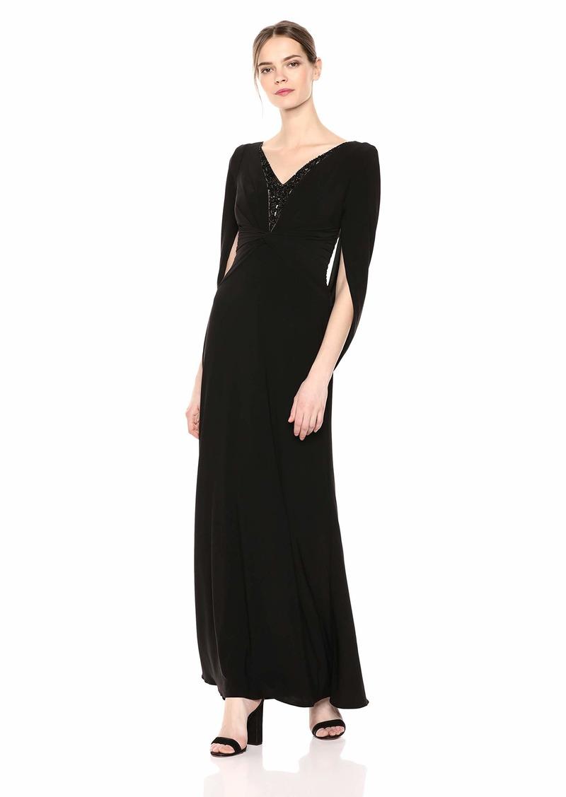 Adrianna Papell Women's Jersey Long Dress