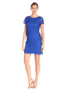 Adrianna Papell Women's Katie Lace Shift Dress
