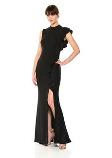 Adrianna Papell Women's Knit Crepe Gown