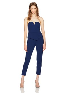 Adrianna Papell Women's Knit Crepe Jumpsuit