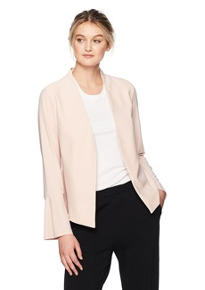 Adrianna Papell Women's Knit Jacket with Bell Sleeve