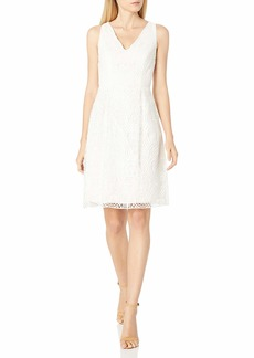 Adrianna Papell Women's Lace Fit and Flare
