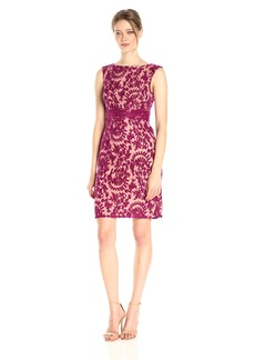 Adrianna Papell Women's Lace Sheath Dress