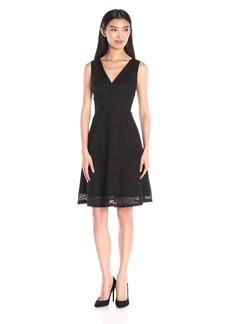 Adrianna Papell Women's Lace Sleeveless Dress