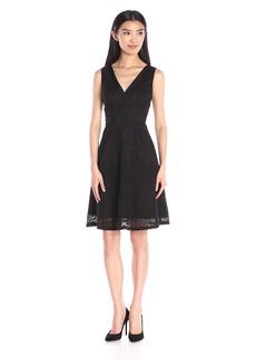 Adrianna Papell Women's Lace Sleeveless Dress