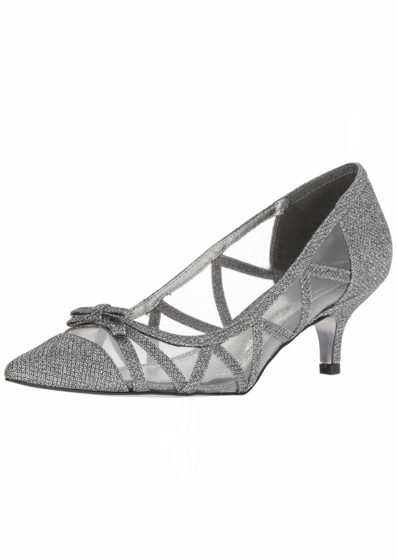 Adrianna Papell Women's Lana Pump Gunmetal Jimmy net  M US