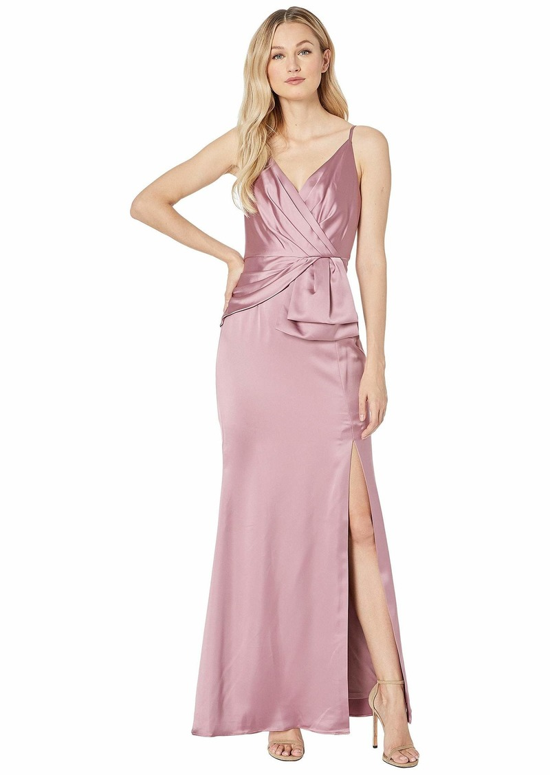 Adrianna Papell Women's Light Satin Dress