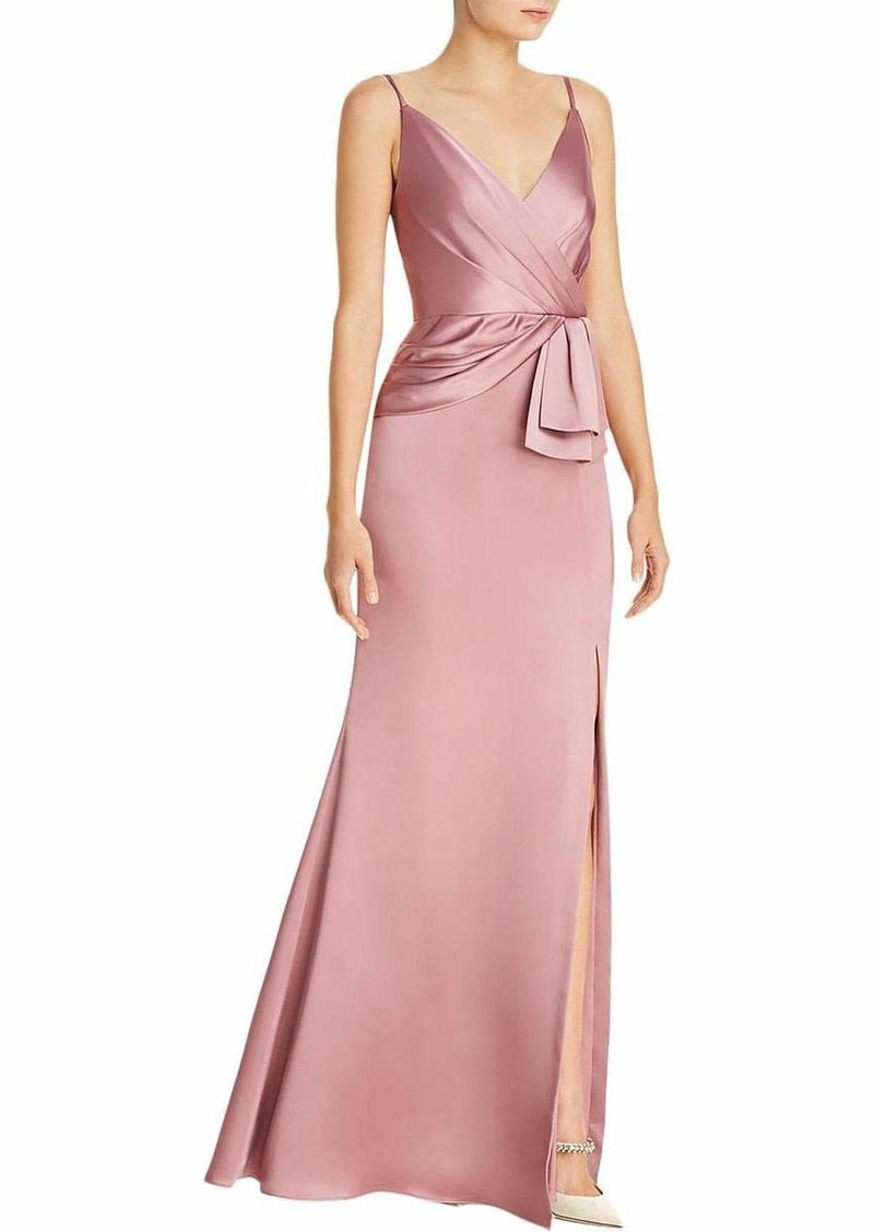 Adrianna Papell Women's Light Satin Dress