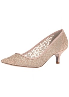 Adrianna Papell Women's LOIS-LC Pump Blush Valencia lace