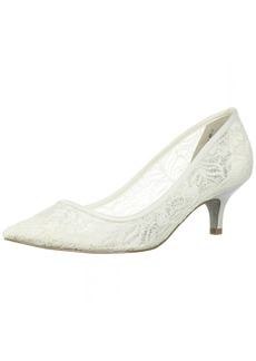 Adrianna Papell Women's LOIS-LC Pump Ivory lace