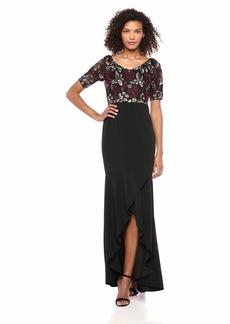 Adrianna Papell Women's Long Sequin Dress