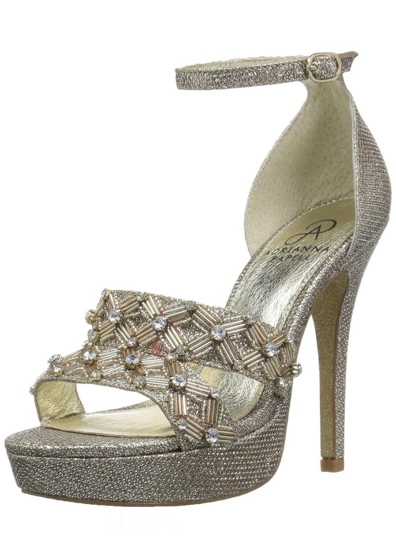 Adrianna Papell Women's Marietta Heeled Sandal   M US
