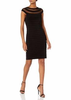 Adrianna Papell Women's Matte Jersey Banded Dress