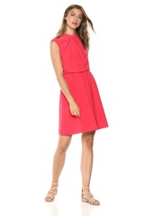Adrianna Papell Women's Matte Jersey FIT and Flare Dress