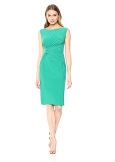 Adrianna Papell Women's Matte Jersey Sheath Dress