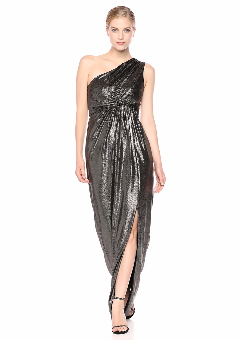Adrianna Papell Women's Metallic Jersey Dress