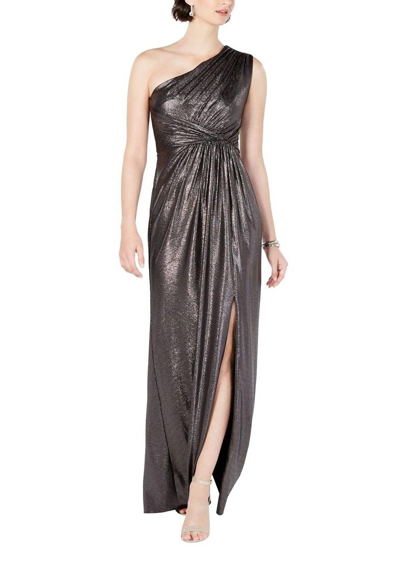 Adrianna Papell Women's Metallic Jersey Dress