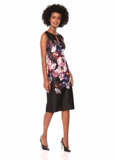 49c59040 Adrianna Papell Adrianna Papell Women's Off The Shoulder Swirl ...