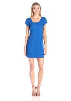 Adrianna Papell Women's Pique A-Line Dress