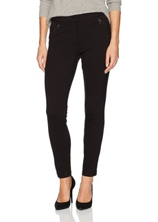 Adrianna Papell Women's Ponte Pants with Side Zippers