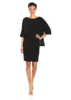 Adrianna Papell Women's Popover Sheath Dress