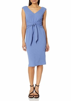 Adrianna Papell Women's Rio Knit TIE Sheath Dress