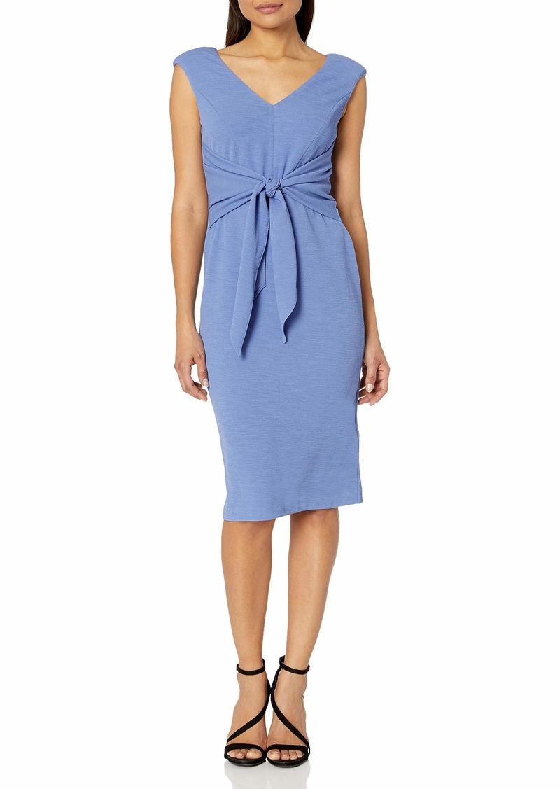Adrianna Papell Women's Rio Knit TIE Sheath Dress