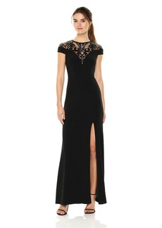 Adrianna Papell Women's Sequin Jersey Dress
