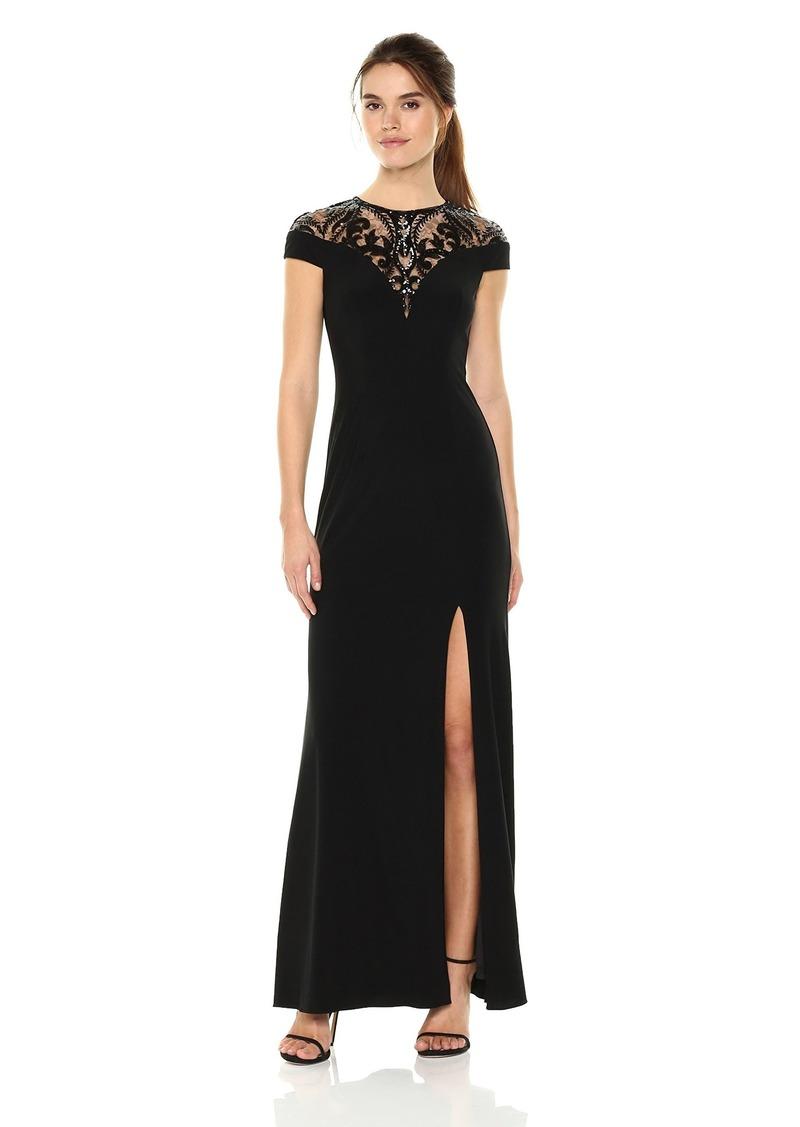 Adrianna Papell Women's Sequin Jersey Dress