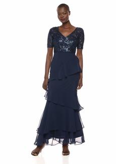Adrianna Papell Women's Sequin Long Dress