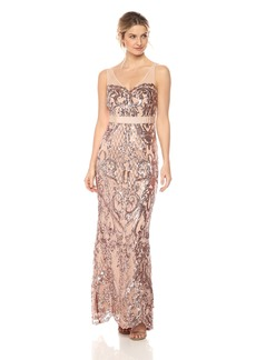 Adrianna Papell Women's Sequin Mermaid Dress