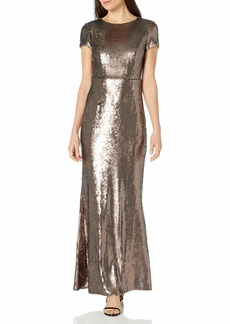 Adrianna Papell Women's Sequin Mermaid Gown