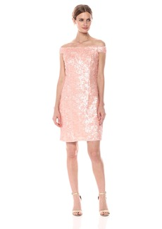 Adrianna Papell Women's Sequin Sheath Dress