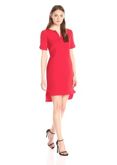 Adrianna Papell Women's Shirtail Shift Dress