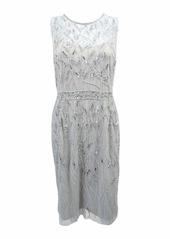 Adrianna Papell Women's Short Beaded Dress