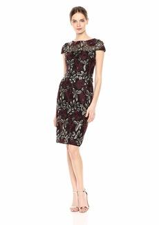 Adrianna Papell Women's Short Sequin Dress