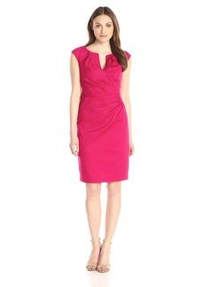 Adrianna Papell Women's Side-Drape Sheath Dress