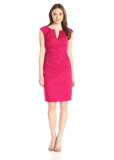 Adrianna Papell Women's Side Drape Sheath Dress