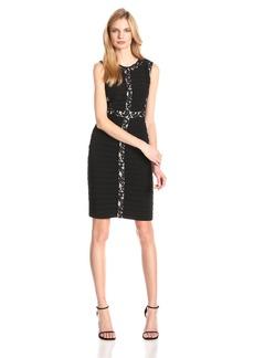 Adrianna Papell Women's Sleeveless Banded Dress