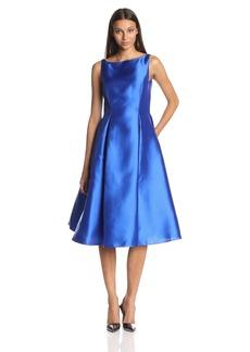 Adrianna Papell Women's Sleeveless Mid-Length Party Dress with V-Back