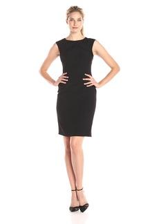 Adrianna Papell Women's Sleeveless Sheath Dress