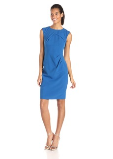 Adrianna Papell Women's Sleeveless Sheath Dress