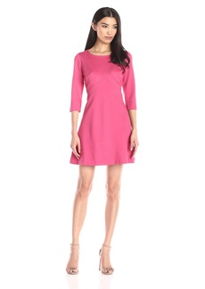 Adrianna Papell Women's Solid -Line Dress
